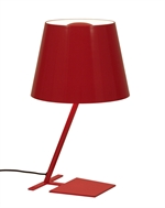 Lucina Bordlampe BIG, rød